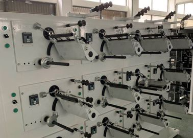 China Touch Screen Automatic Thread Winding Machine , Textile Thread Spool Winder factory