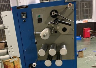 China Industrial Cotton Thread Winding Machine , Sewing Thread Spool Winder factory